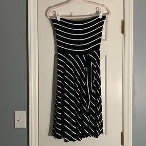Ann Taylor Strapless dress small